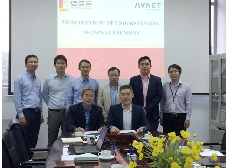 Avnet ký Biên bản ghi nhớ với Trường Đại học Bách Khoa Hà Nội