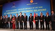 Kỷ niệm 25 thiết lập quan hệ ngoại giao chính thức Hàn Quốc và Việt Nam