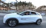 Hyundai thử nghiệm mẫu xe điện sử dụng pin nhiên liệu tự lái đầu tiên trên thế giới