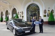 Bàn giao xe E 200 thế hệ mới cho khách sạn Majestic Sài Gòn