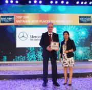 Mercedes-Benz - môi trường làm việc tốt nhất ngành ôtô Việt Nam