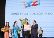 IZZI S+ lọt Top 20 Thương hiệu Vàng thực phẩm Việt Nam năm 2014