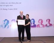 Cam kết đồng hành cùng phụ nữ Việt Nam trong chăm sóc sức khỏe