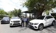 Bàn giao ba xe SUV cho InterContinental Danang Sun Peninsula Resort