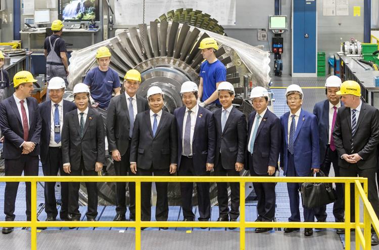 Siemens không ngừng chinh phục đỉnh cao mới về hiệu suất cho các nhà máy nhiệt điện