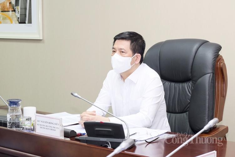Bộ trưởng Nguyễn Hồng Diên: Tăng cường an toàn phòng, chống dịch tại các cơ sở sản xuất kinh doanh là nhiệm vụ trọng yếu