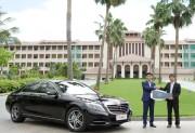 Mercedes-Benz Việt Nam bàn giao xe S 400 L cho Vinpearl Đà Nẵng