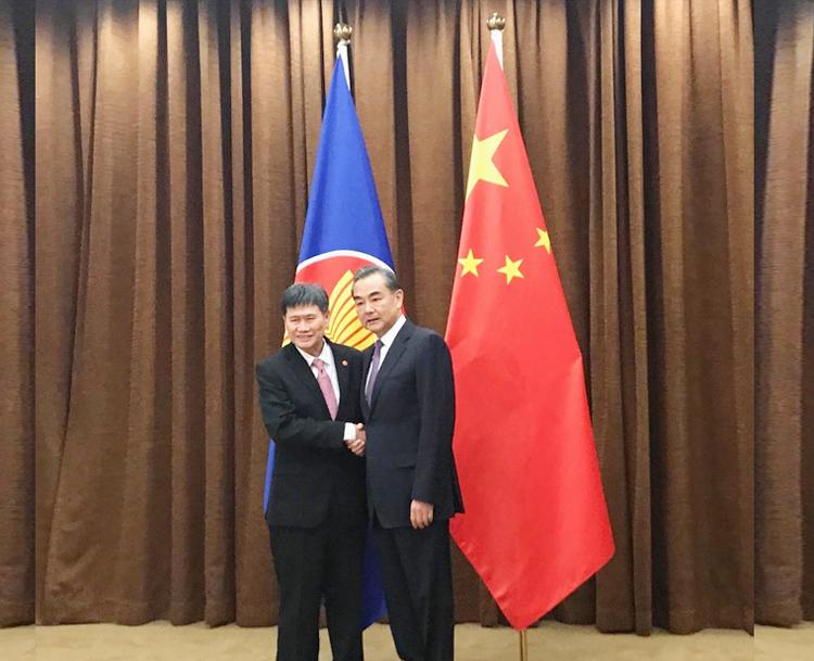 Quan hệ ASEAN - Trung Quốc ngày càng được củng cố và tăng cường
