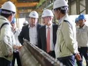 Đại sứ Hàn Quốc thăm Công ty Doosan Vina