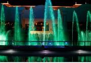 Hồ Tràm lung linh sắc màu đêm