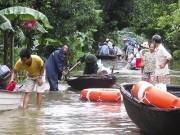 Xã Việt Hải, Cát Bà (Hải Phòng) ngập chìm trong biển nước