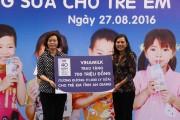 Trao tặng 111.000 ly sữa cho hơn 1.200 trẻ em tỉnh An Giang