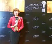 Nữ doanh nhân Việt Nam đầu tiên được vinh danh tại Giải thưởng HRD Asia 2017