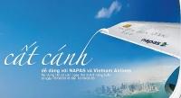 cat canh de dang voi napas va vietnam airlines