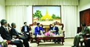 Hợp tác phát triển ngành Công Thương  Việt Nam - Lào: Thống nhất mục tiêu, hợp tác bền vững