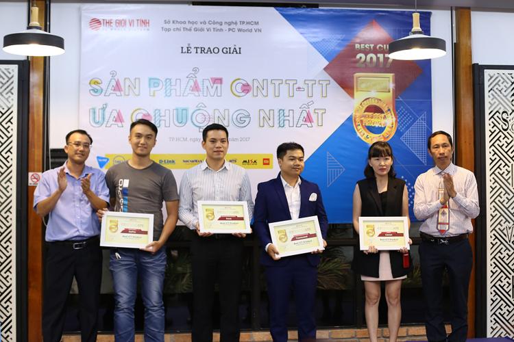 """ASUS vinh dự nhận 3 giải thưởng """"Sản phẩm CNTT-TT ưa chuộng nhất"""" 2017"""