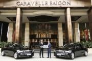Khách sạn Caravelle Sài Gòn sắm thêm bộ đôi E 200 thế hệ mới