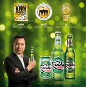 Thương hiệu bia Việt đầu tiên đạt ba Huy chương Vàng châu Âu