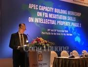 """Hội thảo APEC về """"Xây dựng năng lực cho kỹ năng đàm phán sở hữu trí tuệ trong các FTA - giai đoạn 2"""""""