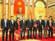 """Chủ tịch nước Trần Đại Quang: """"Các doanh nghiệp cần bám sát mục tiêu giá trị của Chương trình Thương hiệu Quốc gia"""""""