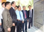 Khánh thành Di tích nơi thành lập Chi bộ Đảng đầu tiên tại Khu mỏ Quảng Ninh
