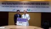 Bệnh viện Đại học Chung Ang tặng thiết bị y khoa cho tỉnh Quảng Ngãi