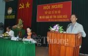 Bộ trưởng Trần Tuấn Anh và Đoàn đại biểu Quốc hội tiếp xúc cử tri tỉnh Quảng Ngãi
