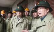 Bộ trưởng Trần Tuấn Anh tham gia Đoàn công tác của Chính phủ thị sát vùng lũ Bình Định