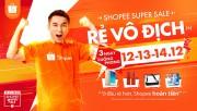 """120.000 mặt hàng """"rẻ vô địch"""" sẽ được mở bán tại Shopee Super Sale"""