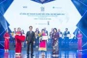 Dekalb Việt Nam: Top 10 doanh nghiệp phát triển bền vững 2017
