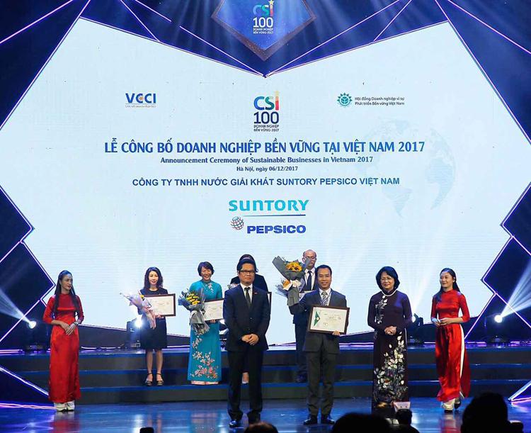 Suntory PepsiCo: Nỗ lực không ngừng vì mục tiêu phát triển bền vững