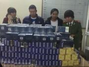 Bắt giữ hơn 3.200 bao thuốc lá ngoại nhập lậu