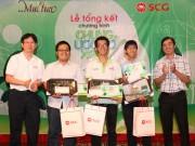40 sinh viên Việt Nam nhận chứng nhận Đại sứ Chung ước mơ xanh