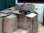 Quảng Ninh: Thu giữ 139 chai rượu ngoại không có hóa đơn