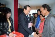 200 hộ nghèo tại Lai Châu được nhận quà tết từ Quỹ Prudence
