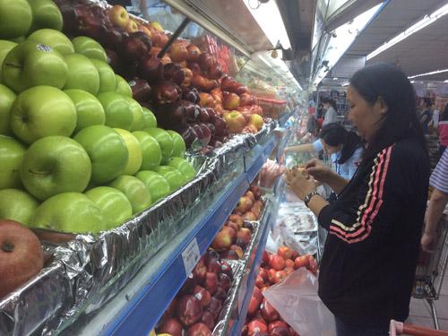 TP.HCM: Siêu thị không kinh doanh trái cây nhiễm viêm gan A