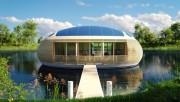 """Ý tưởng """"ngôi nhà xanh"""" làm từ vật liệu tái chế"""