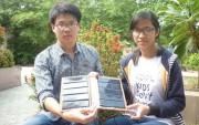 Học sinh sáng chế pin năng lượng mặt trời