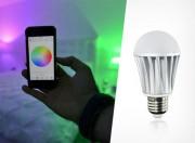 Bóng đèn có thể thay đổi màu sắc theo điệu nhạc