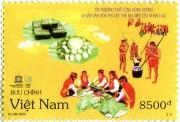Phát hành đặc biệt bộ tem Tín ngưỡng thờ cúng Hùng Vương