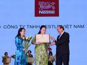 Nestlé Milo và Maggi  đoạt giải Thương hiệu vàng thực phẩm Việt Nam