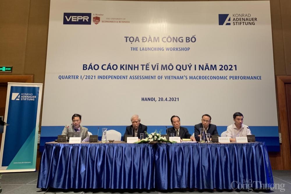 VEPR dự báo kinh tế Việt Nam năm 2021 trên tăng 6 %