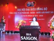 Đảng bộ Tổng công ty Bia rượu- Nước giải khát Sài Gòn: Giữ nhịp tăng trưởng trong nhiệm kỳ mới
