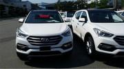 Hyundai Santa Fe bản nâng cấp lộ diện