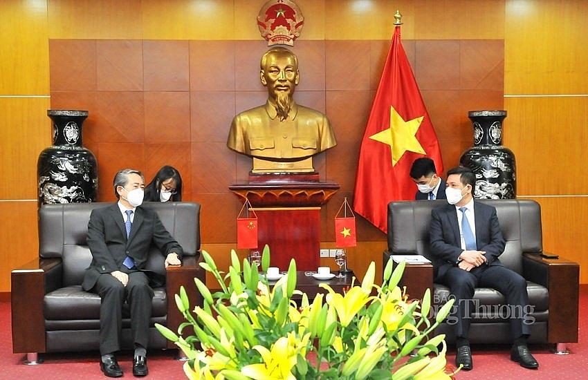 Việt Nam - Trung Quốc: Tiếp tục phối hợp, tạo thuận lợi xuất nhập khẩu