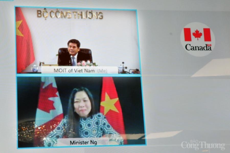 Việt Nam – Canada: Sớm thành lập Ủy ban hỗn hợp về kinh tế và thương mại