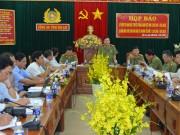 Gia Lai: Tuyên truyền kỷ niệm 70 năm ngày truyền thống Công an nhân dân Việt Nam