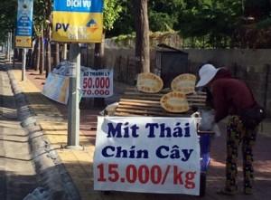 can than voi mit thai chin cay