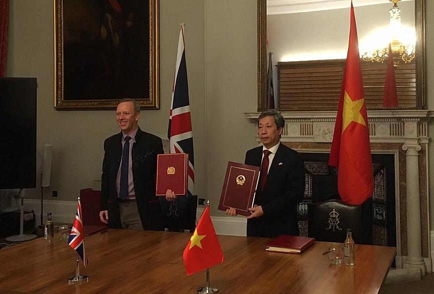 Chính thức ký kết Hiệp định Thương mại tự do Việt Nam - Vương quốc Anh