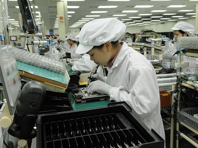 Xuất khẩu điện thoại, điện tử tăng nhanh trong quý I/2021